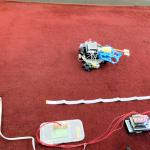 【動画】スピードレース出場ロボットとタイム計測ロボット